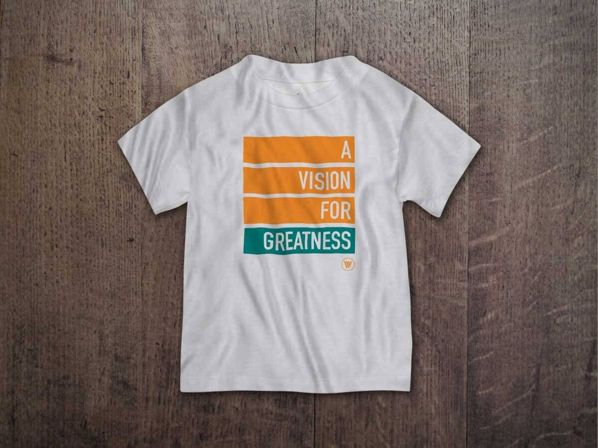 A VISION FOR GREATNESS TODDLER T-SHIRT