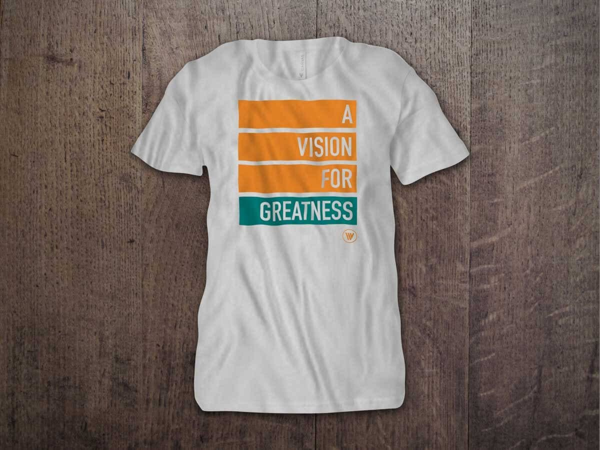 A VISION FOR GREATNESS YOUTH T-SHIRT