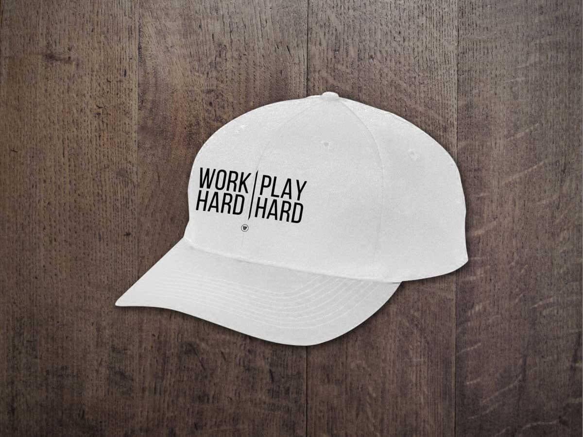 WORK HARD PLAY HARD YOUTH CAP